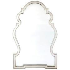 Antique Silver Paloma Mirror