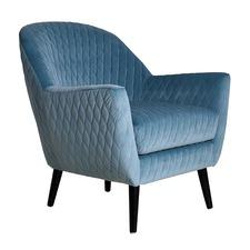 Olivia Velvet Armchair