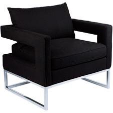 Modern Elle Linen Armchair
