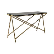 Olive Marble Console Table