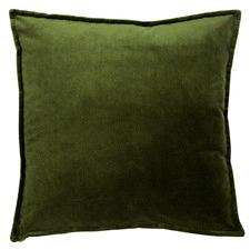 Green Harper Velvet Cushion