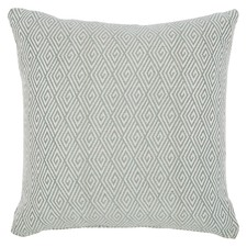 Duck Egg Blue Jewel Cushion