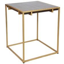 Golden Salvador Side Table