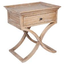 Rustic Suffolk Bedside Table