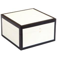 White Bacall Storage Box