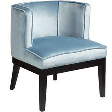 Cherie Velvet Armchair