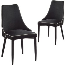 Ally Piped Chairs (Set of 2)