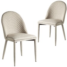 Bella Quilted Chairs (Set of 2)