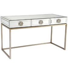 Modern Mirrored Rochester Desk