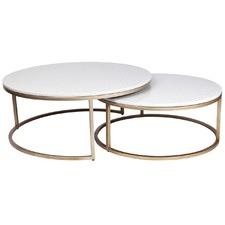 2 Piece Chloe Nesting Tables Set