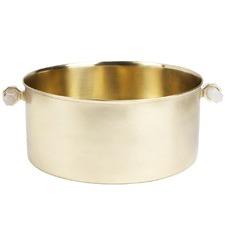 Paxton Brass Champagne Bucket