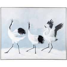 Crane Lake Canvas Wall Art