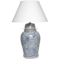 Shellcove Porcelain Table Lamp