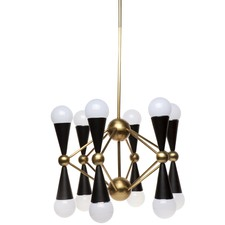 12 Arm Quincy Chandelier