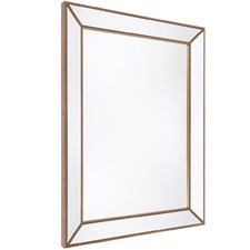 Large Zeta Beaded Wall Mirror