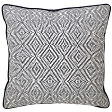 Navy Jewel Cotton Cushion