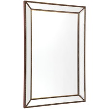 Medium Zeta Beaded Wall Mirror
