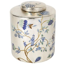 Chinois Porcelain Temple Jar