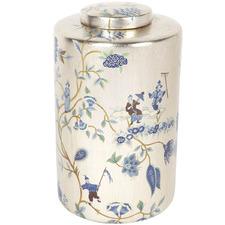 Chinois Porcelain Temple Jar