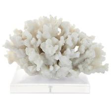 Medium White Cairns Polyresin Decorator