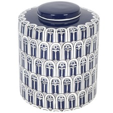 Getty Storage Porcelain Jar