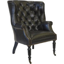 Gerrard Cow Leather Armchair
