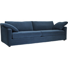 California 3 Seater Velvet Sofa