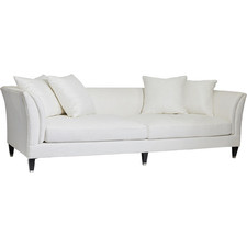 White Tailor 3 Seater Sofa