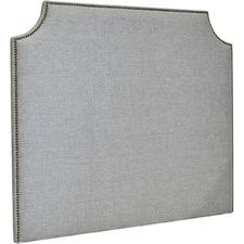 Grey Ellis Linen Bedhead