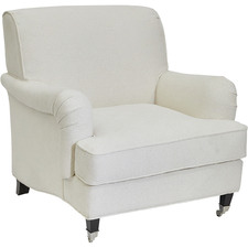 Ivory Manor Upholstered Armchair