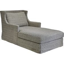 Grey South Hampton Chaise Lounge