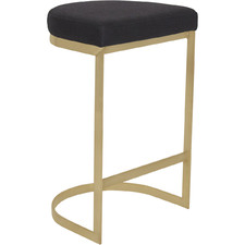 York Upholstered Accent Stool
