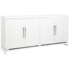 White Pearl Buffet Cabinet