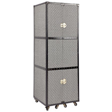 Black Raffles Portable Wardrobe