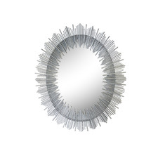 Silver Franklin Decorative Mirror