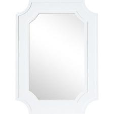 White Bungalow Wall Mirror