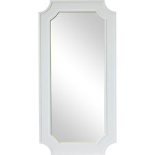 White Bungalow Leaning Mirror