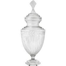 Clear Laurent Glass Jar