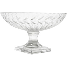 Small Laurent Glass Fruit Bowl