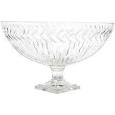 Laurent Glass Fruit Bowl
