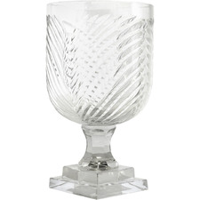 22cm Copacabana Glass Vase