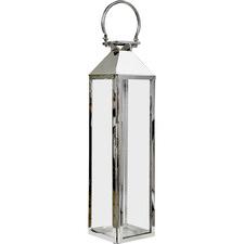 Silver Malibu Lantern