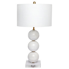 Langosh Marble & Crystal Table Lamp