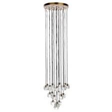 Posh 19 Light Brass Pendant