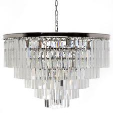 Silver Ocasio Glass Chandelier