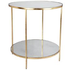 Aisha Mirrored Side Table