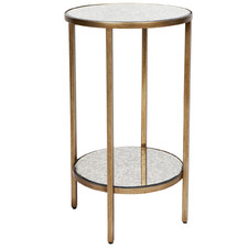 Ross Cocktail Mirrored Side Table