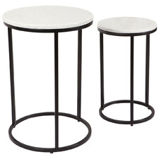 2 Piece Chloe Nesting Side Table Set