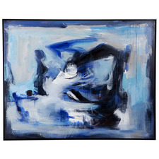 Recline Handcrafted Oil Painting Framed Canvas Wall Art
