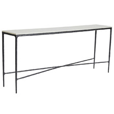 Heston Marble-Top Console Table